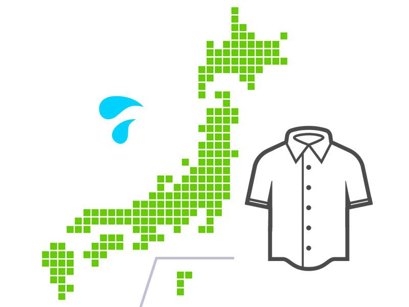 ビジネスの基本は長袖……とはいったものの、日本の夏には半袖シャツが欠かせません。