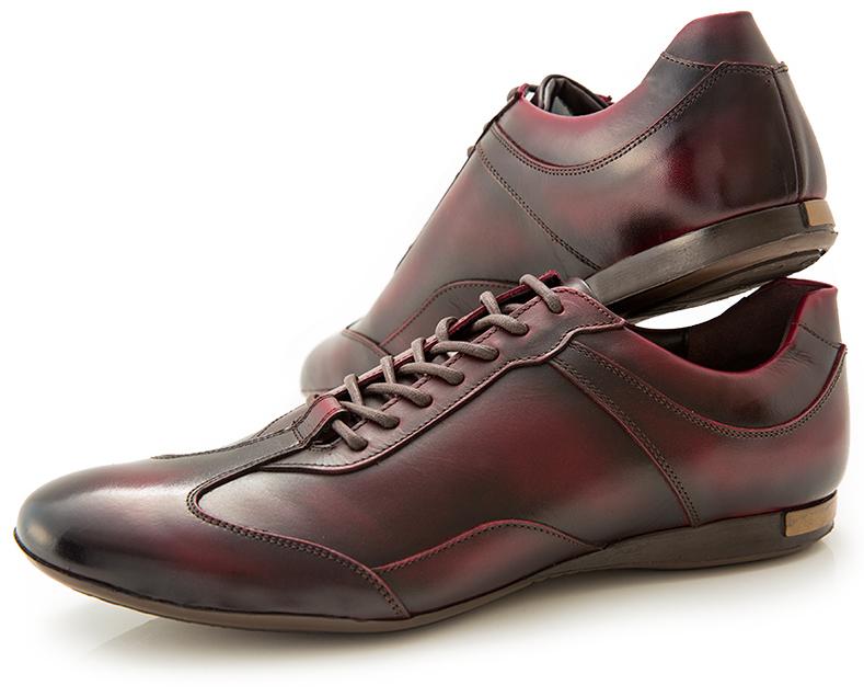 おすすめの革靴スニーカー07:大塚製靴のクラシックレザースニーカー HS-6009です。